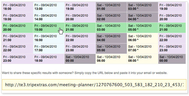 The Meeting Planner